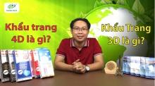 Thành Phát Giới Thiệu Dòng Sản Phẩm Khẩu Trang Hello Mask 3D và 4D
